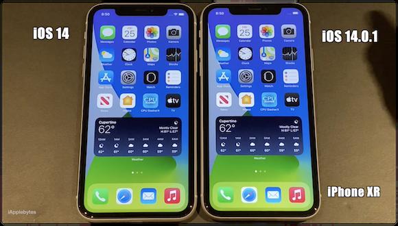 iOS14.0.1 動作速度テスト
