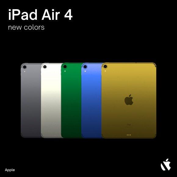 iPad Air 4 colors 2
