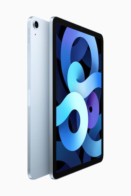Apple iPad Air 4 ブルー 壁紙