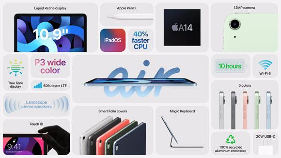 iPad Air 特徴