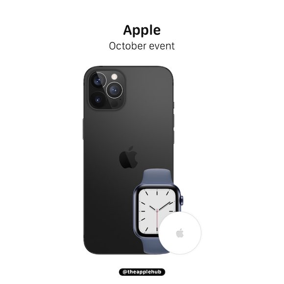 iPhone12 October event