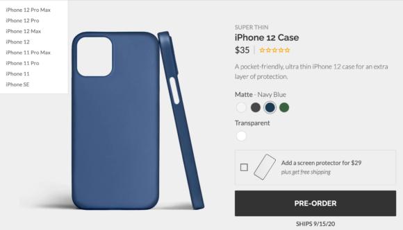 iPhone12 case blue