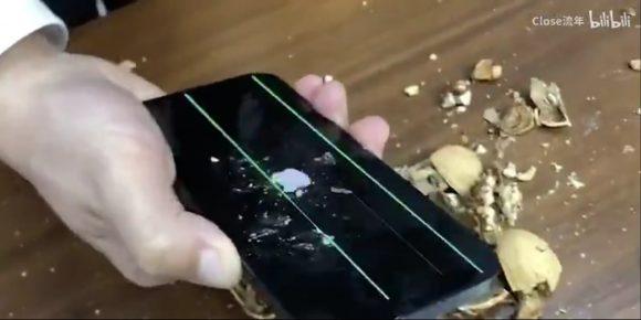 iphone12 pro 胡桃 クルミ 破壊 実験