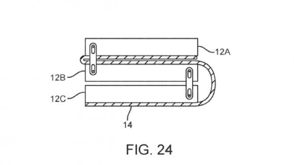 折りたたみスマホ iphone 特許