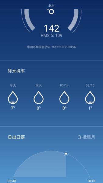 miui 天気