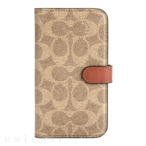 【iPhone12:12 Pro ケース】Folio Case (Signature C Khaki)
