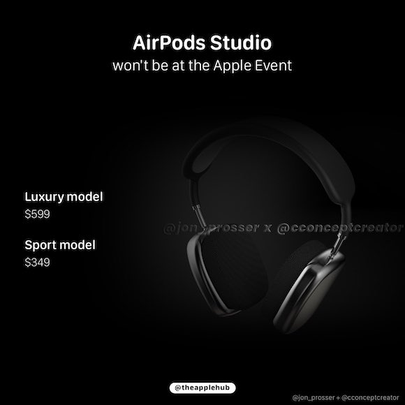 AirPods Studio price