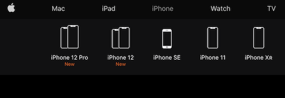 Apple iPhone 販売モデル