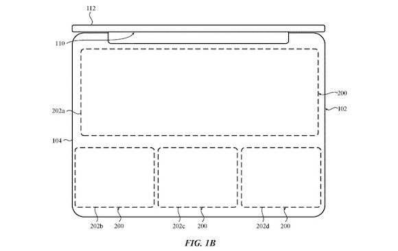 Apple Patent Virtual keyboard1