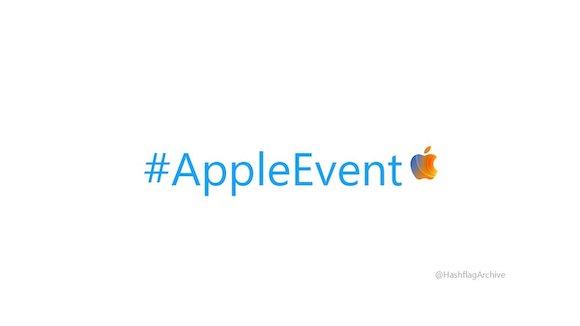Apple logo hashtag 202010