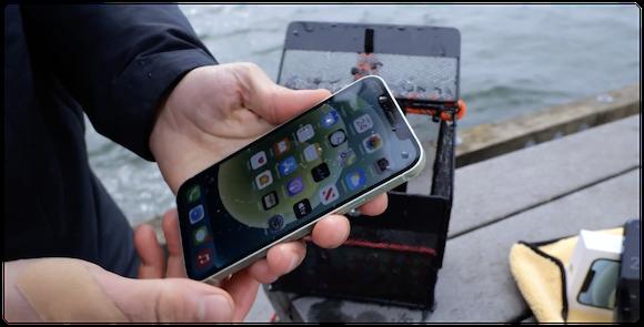 iPhone12 耐水テスト