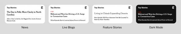 New york times widget