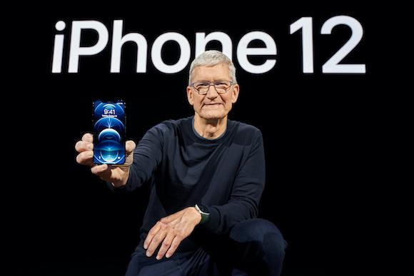 AppleEvent iPhone12 ティム・クックCEO Apple イベント