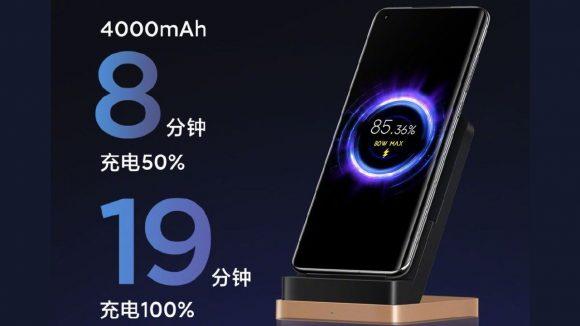 xiaomi ワイヤレス充電 80w