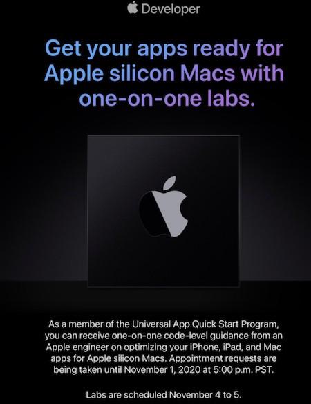 Appleシリコン Mac セッション 案内