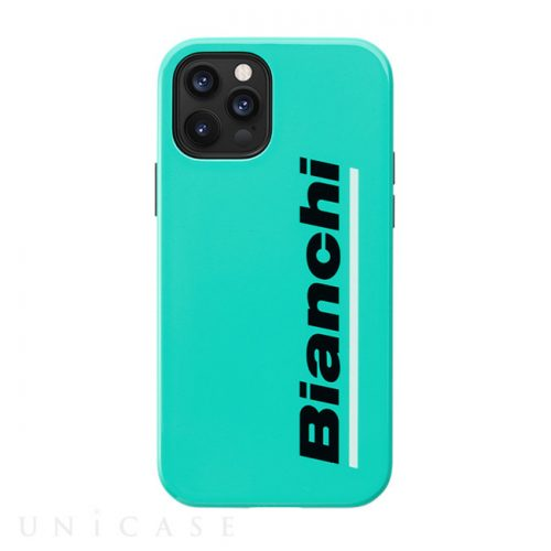 【iPhone12:12 Pro ケース】Bianchi Hybrid Shockproof Case for iPhone12:12 Pro (celeste)