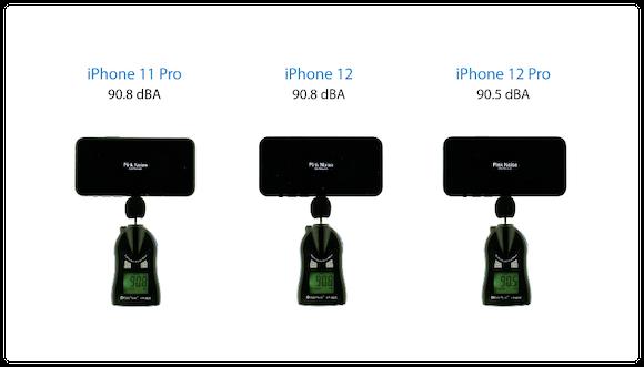 iPhone12 スピーカーテスト