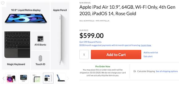 iPad AIr 4 order Adrama_01