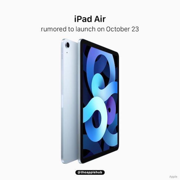 iPad air 4 launch