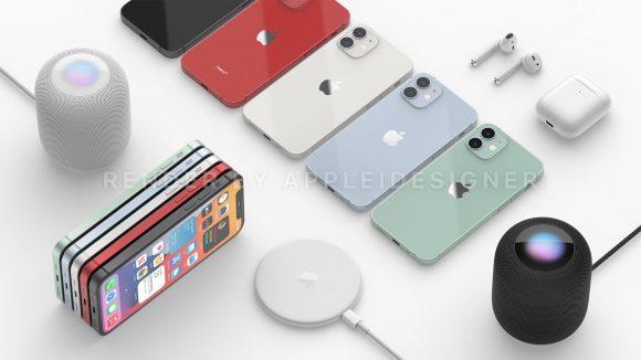 iPhone12 HomePod mini MagSafe