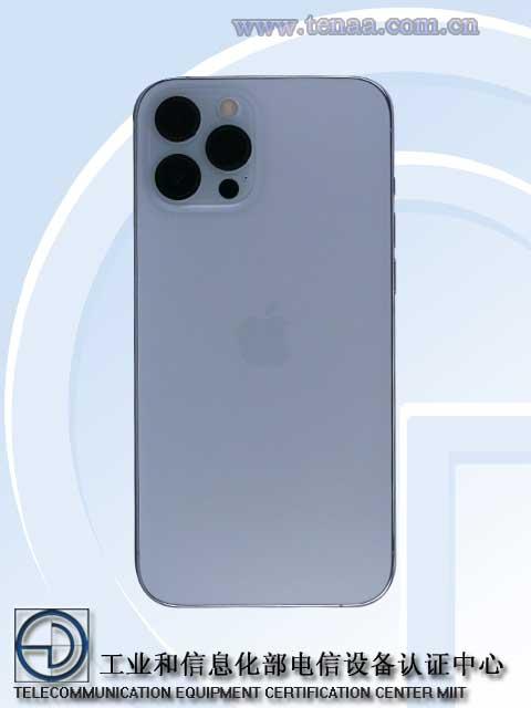 iPhone12 Pro Max TENAA