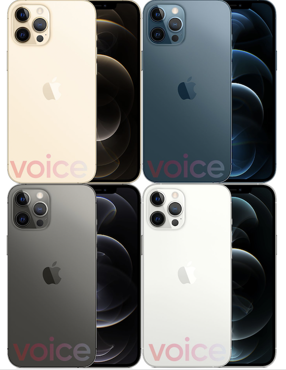 iPhone12 Pro colors
