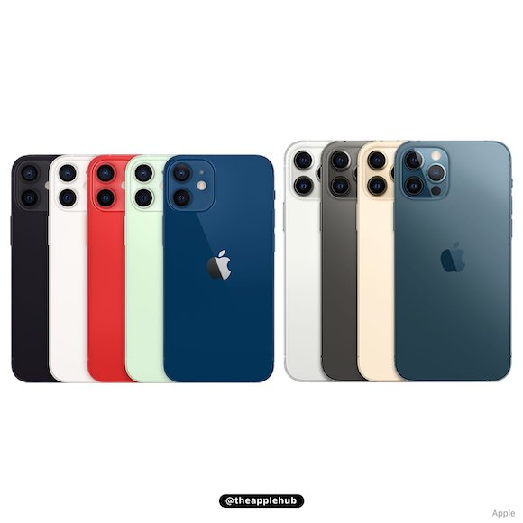 iPhone12 lineup