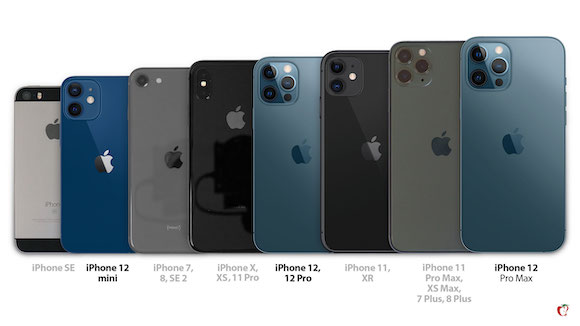 iPhone12 size compare_01