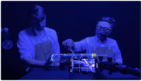 Apple 「Experiments V: Dark Universe」