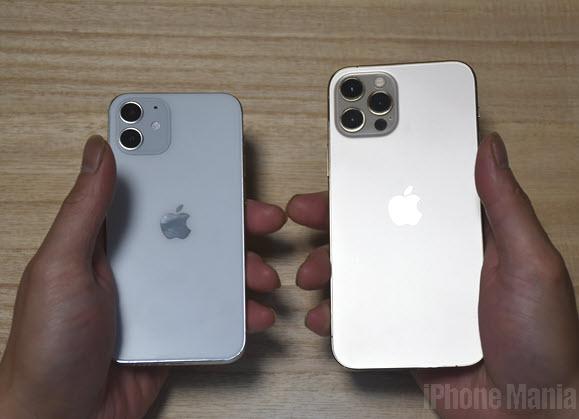 iPhone12 Pro 12 mini モックアップ レビュー 比較