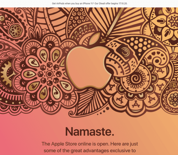 インド apple オンライン