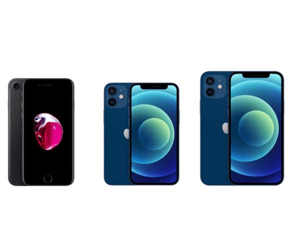 iphone7 iphone12 mini