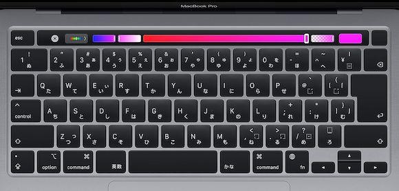 MacBook Pro JIS配列 キーボード