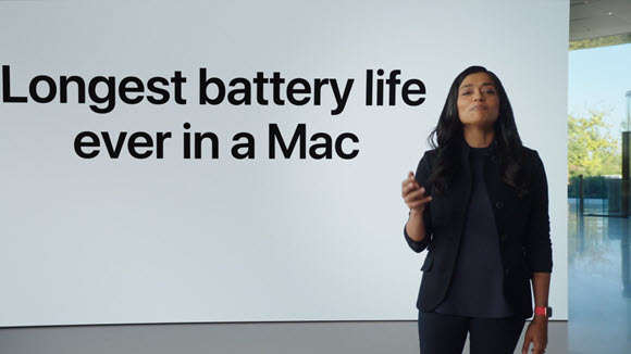 バッテリー駆動時間 13インチMacBook Pro