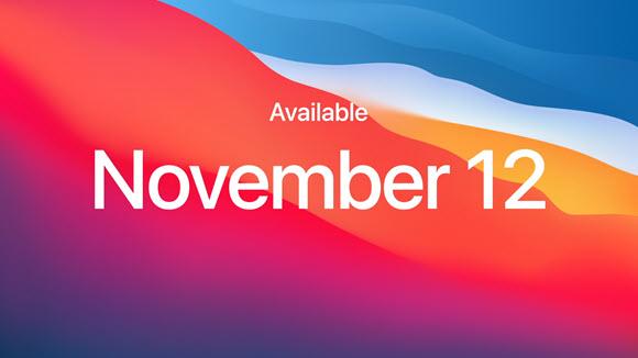 Apple M1 macOS Big Sur