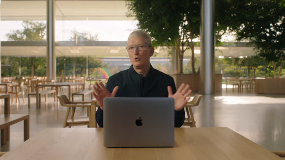 Apple Tim Cook AppleEvent