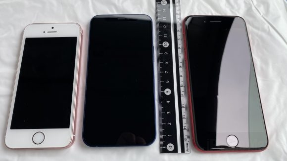iPhone12 mini 比較写真