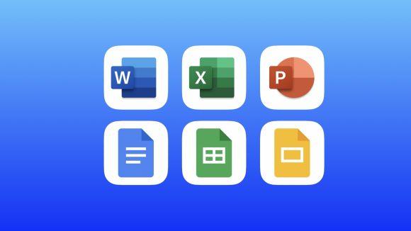 Google Microsoft Office アプリ