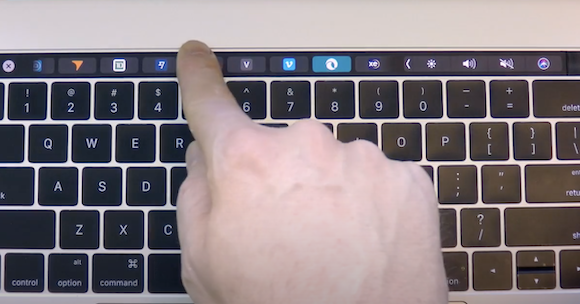 Haptic Touch Bar