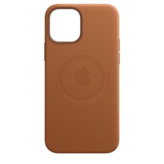 MagSafe対応iPhone 12 | iPhone 12 Proレザーケース - サドルブラウン