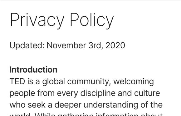 Tips iOS14 アプリ プライバシーポリシー