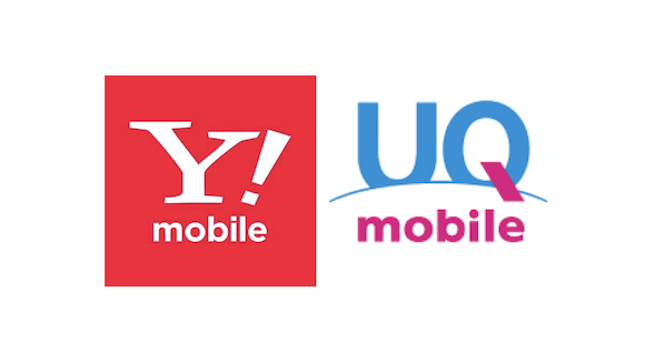 Y!mobile UQ mobile ロゴ