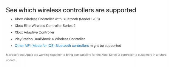 apple microsoft xbox サポート