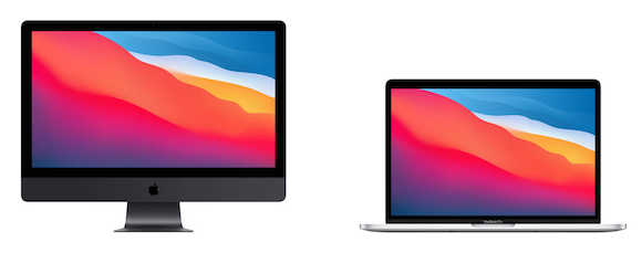 iMac Pro and MacBook Pro