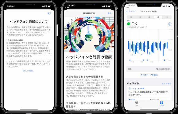 iOS14.2 聴覚