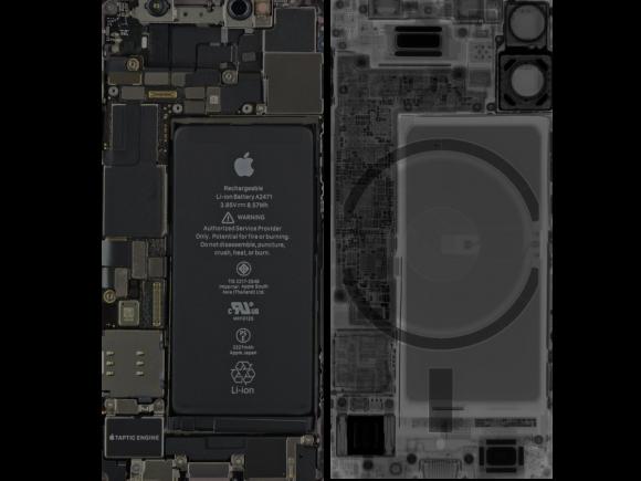 iPhone 12 mini Internals wallpaper-1