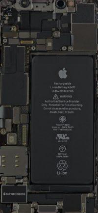 iPhone 12 mini Internals wallpaper