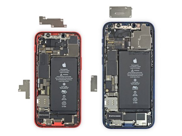 iPhone12 mini 分解 iFixit