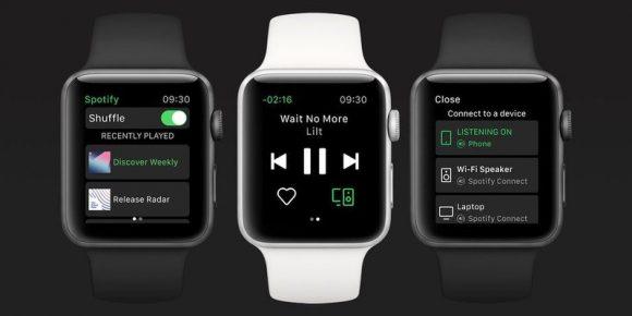 Spotify Apple Watch アプリ