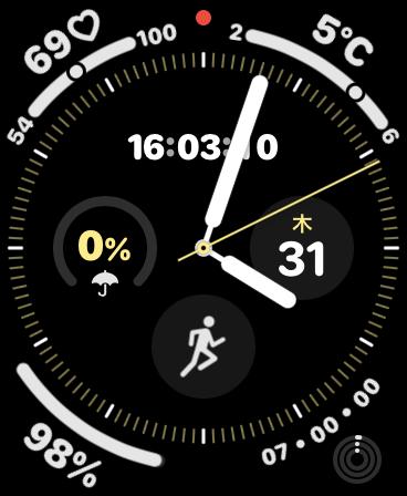 Apple Watch アクティビティ ゴール